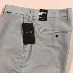 🆕 NIKE HURLEY Mens Shorts Aqua Blue